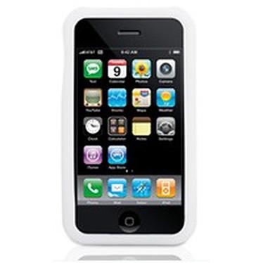 Griffin Wave Griffin Wave - Housse en silicone blanche (pour iPhone 3G)
