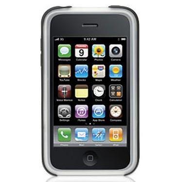 Griffin FlexGrip Griffin FlexGrip - Housse en silicone gris/noir (pour iPhone 3G)