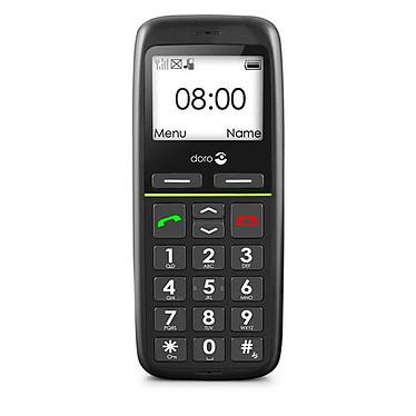 Doro PhoneEasy 341gsm Noir Téléphone à grosses touches