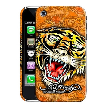 "Ed Hardy - Faceplate iPhone 3G ""Tiger"" Orange Ed Hardy - Faceplate iPhone 3G ""Tiger"" Orange"