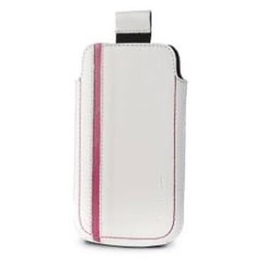 Valenta Pocket Sport - Etui en cuir Valenta Pocket Sport - Etui en cuir blanc/rose