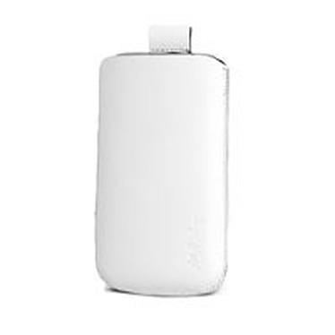 Valenta Pocket White Valenta Pocket White - Etui en cuir blanc
