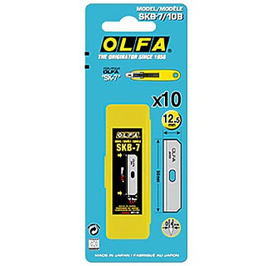 OLFA SKB-7 - 10 lames 12.5 mm pour cutter SK-7