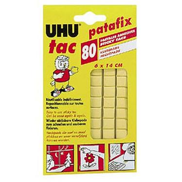 UHU Patafix 80 pastilles jaunes UHU Patafix 80 pastilles jaunes