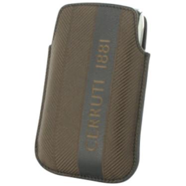 Cerruti Etui Pouch cuir Marron (pour Blackberry 8520) Cerruti Etui Pouch cuir Marron (pour Blackberry 8520)