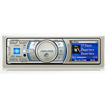 Alpine iDA-X100M Alpine iDA-X100M - Autoradio marin MP3 avec fonction iPod (4x 50W)