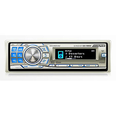 Alpine CDA-9886M Alpine CDA-9886M - Autoradio marin CD/MP3 avec fonction iPod (4x 50W)