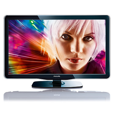 "Philips 52PFL5605H Philips 52PFL5605H - Téléviseur LED Full HD 52"" (132 cm) 16/9 - 1920 x 1080 pixels - Tuner TNT HD - 100 Hz - HDTV 1080p - Port USB"
