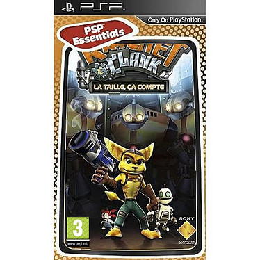 Ratchet & Clank : La taille ça compte PSP Essentials (PSP)