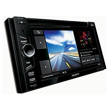 Sony XAV-60 Sony XAV-60 - Lecteur multimédia 2DIN avec écran 6 pouces, fonction iPod/iPhone USB et entrée auxiliaire