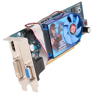 Sapphire Radeon HD 3650 LP 512 MB Sapphire Radeon HD 3650 LP - 512 Mo HDMI/DVI - PCI Express (ATI Radeon HD 3650) (Low profile)