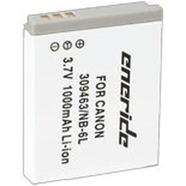 Eneride Batterie compatible Canon NB-6L Batterie compatible NB-6L 750 mAh (pour Canon Ixus 85 IS)