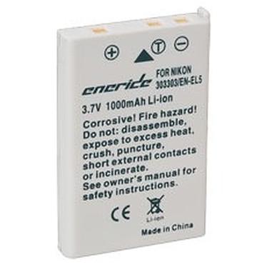 Eneride Batterie compatible EN-EL5 (Coolpix 3700, / 4200 / 5200 / 5900 / 7900 / P100 / P3 / P4 / P5000 / P5100 / P6000 / P80 / P90 / S10) Batterie compatible EN-EL5 (pour Nikon Coolpix 3700)