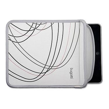 Bugatti iPad Sleeve Grey Bugatti iPad Sleeve Grey - Etui pour iPad