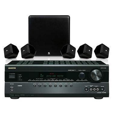 Onkyo TX-SR508 Onkyo TX-SR508 + Boston SoundWareXS 5.1 - Ampli-tuner Home Cinéma 7.1 avec HDMI 1.4 + Pack d'enceintes ultra compactes 5.1