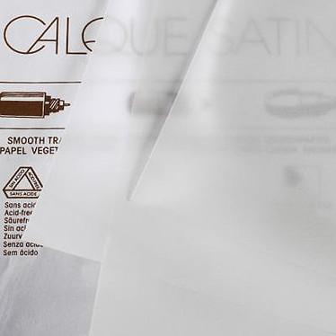 Canson Bloc papier calque 50 feuilles A4 90g Canson Bloc papier calque 50 feuilles A4 90g