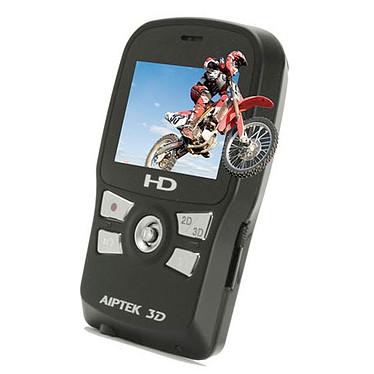 Aiptek 3D i2 Aiptek 3D i2 - Caméscope 3D HD Carte mémoire sortie HDMI