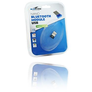 Bluestork BS-BT-USB2/NANO Mini Adaptateur Bluetooth 2.0 - Portée 10 mètres (USB 2.0)