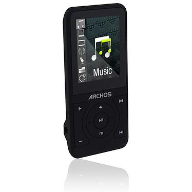 """ARCHOS 18 Vision 8 GB Noir ARCHOS 18 Vision Noir - Lecteur MP3 vidéo 8 Go Ecran 1,8"""" FM"""