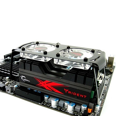 G.Skill Trident Series 24 Go (6x 4Go) DDR3 2000 MHz G.Skill Trident Series 24 Go (kit 6x 4 Go) DDR3-SDRAM PC3-16000 - F3-16000CL9T2-24GBTD (garantie 10 ans par G.Skill)