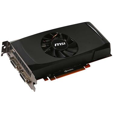 MSI N460GTX-M2D768D5 MSI N460GTX-M2D768D5 - 768 Mo Dual DVI/Mini HDMI - PCI Express (NVIDIA GeForce avec CUDA GTX 460)