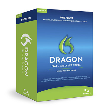 Nuance Dragon NaturallySpeaking 11 Premium Nuance Dragon NaturallySpeaking 11 Premium (français, WINDOWS) - Pack 2 postes
