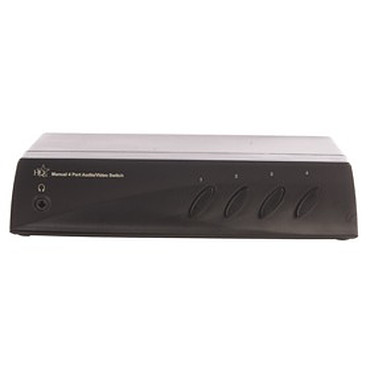 Commutateur audio/vidéo RCA & SVHS Commutateur audio/vidéo RCA & SVHS