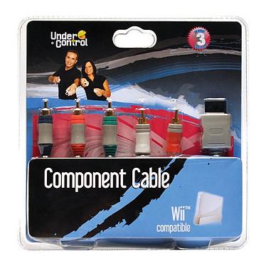 Under Control Câble vidéo composante (Wii/Wii U) Under Control Câble vidéo composante pour Wii et Wii U
