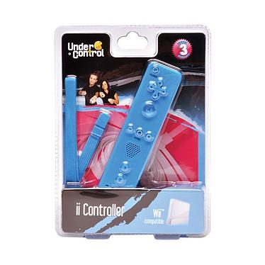 Under Control ii Controller Under Control ii Controller - Télécommande pour Wii (coloris bleu)