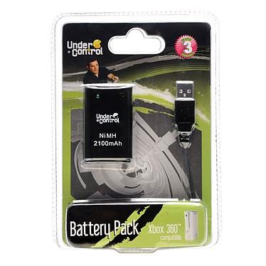 Under Control Battery Pack Noir (Xbox 360) Under Control Battery Pack pour Xbox 360 (coloris noir)