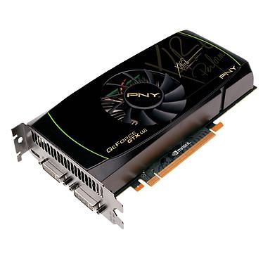 PNY GeForce GTX460 - 768 MB PNY GeForce GTX460 - 768 Mo Mini HDMI/Dual DVI - PCI Express (NVIDIA GeForce avec CUDA GTX 460)