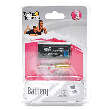 Under Control Batterie rechargeable (Nintendo DSi) Under Control Batterie rechargeable (Nintendo DSi)