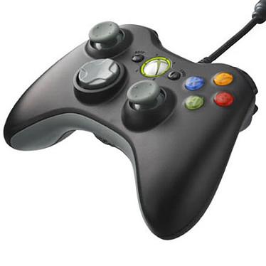 Microsoft Controller Filaire Noir (Xbox 360/PC) Microsoft Xbox 360 Controller Noir - Joypad filaire