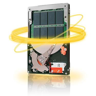"Seagate Momentus XT 7200.1 Hybrid SSD 500 GB NAND Flash SLC 4 GB Disque dur Hybride SSD 2.5"" 500 Go avec NAND Flash SLC 4 Go 2""1/2 7200 RPM 32 Mo Serial ATA II (bulk)"