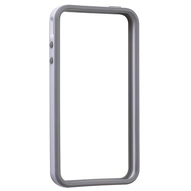 """Gear4 The Band Blanc Gear4 The Band Blanc - Cadre en caoutchouc """"Bumper"""" pour iPhone 4"""