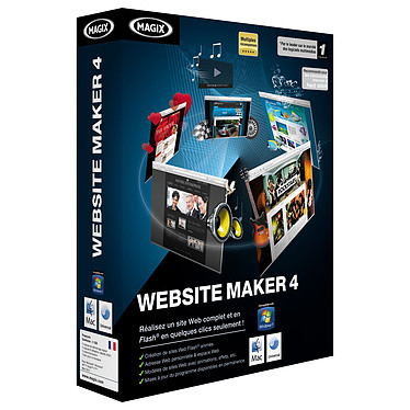 Magix Website Maker 4 MAGIX Website Maker 4 (français, WINDOWS / MAC OS)