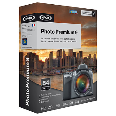 Magix Photo Premium 9 MAGIX Photo Premium 9 (français, WINDOWS)