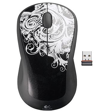 """Logitech Wireless Mouse M310 Logitech Wireless Mouse M310 - Souris sans fil (coloris noir """"FleurDark"""")"""