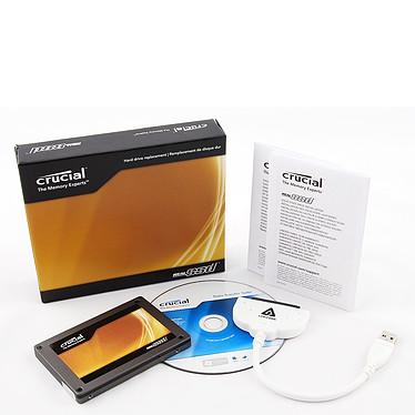 "Crucial RealSSD C300 avec Kit transfert 64 GB Crucial RealSSD C300 avec Kit transfert - SSD 64 Go 2.5"" Serial ATA 6Gb/s"