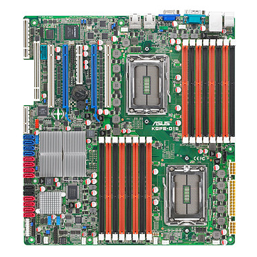 ASUS KGPE-D16 (ASMB4-IKVM) Carte mère SSI EEB AMD SR5690 avec module KVM-over-Internet (garantie constructeur 3 ans)