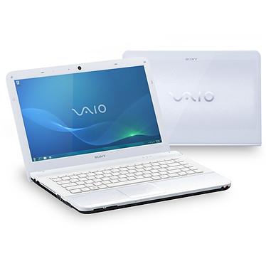 "Sony VAIO VPCEA2S1E/W Sony VAIO VPCEA2S1E/W - Intel Core i3-350M 4 Go 500 Go 14"" LED ATI Mobility Radeon HD 5145 Graveur DVD Wi-Fi N/Bluetooth Webcam Windows 7 Premium 64 bits"