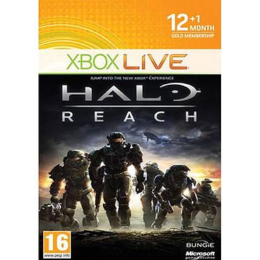 """Microsoft Carte d'abonnement Xbox Live Gold """"Limited Edition Halo Reach"""" de 12 mois (Xbox 360) Microsoft Carte d'abonnement Xbox Live Gold """"Limited Edition Halo Reach"""" de 12 mois (Xbox 360)"""