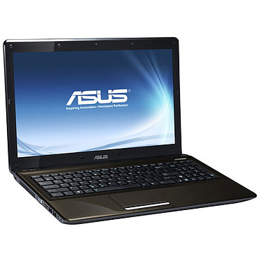 "ASUS K52JB-SX128V ASUS K52JB-SX128V - Intel Core i3-370M 4 Go 500 Go 15.6"" LCD ATI Mobility Radeon HD 5145 Graveur DVD Wi-Fi N Webcam Windows 7 Premium 64 bits (garantie constructeur 2 ans)"