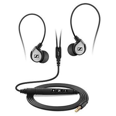 Sennheiser MM 80i Travel Ecouteurs intra-auriculaire avec télécommande et micro pour iPod/iPhone/iPad