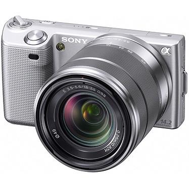 Avis Sony NEX-5 Argent + Objectif 16 mm + Objectif 18-55 mm