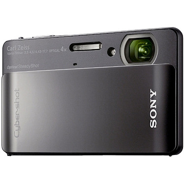 Sony Cyber-Shot DSC-TX5 Noir Sony Cyber-Shot DSC-TX5 Noir - Appareil photo étanche 10.2 MP - Zoom 4x - Vidéo HD - Ecran tactile