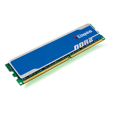 Kingston HyperX blu 2 Go - KHX6400D2B1/2G Kingston HyperX blu 2 Go DDR2-SDRAM PC6400 CL5 - KHX6400D2B1/2G (garantie 10 ans par Kingston)