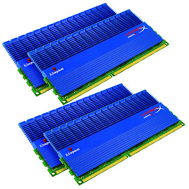 Kingston XMP T1 16 Go (4x 4Go) DDR3 2000 MHz Kingston XMP T1 16 Go (kit 4x 4 Go) DDR3-SDRAM PC3-16000 CL9 - KHX2000C9D3T1K4/16GX (garantie 10 ans par Kingston)