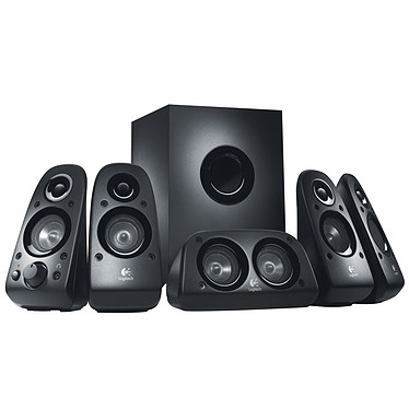 Logitech Speaker System Z506 Ensemble 5.1 - 75 Watts - Jack 3.5 mm - compatible PS3 / Xbox 360 / Wii et iPod
