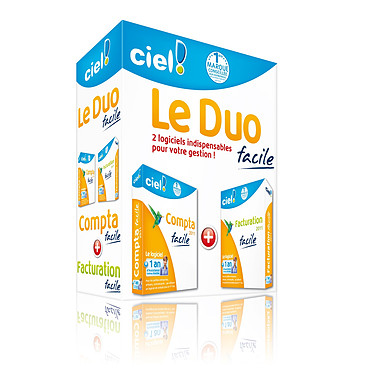 Ciel Le Duo Facile 2011 Ciel Le Duo Facile 2011 avec 1 an d'assistance online offert (français, WINDOWS)